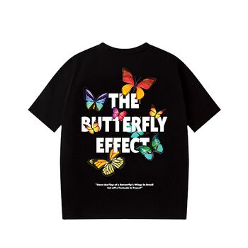 HIGHCLUB BUTTERFLY TEE - BLACK