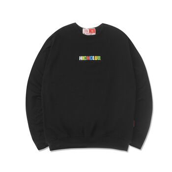 HIGHCLUB BASIC SWEATER - BLACK