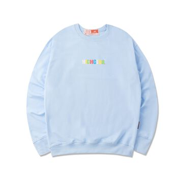 HIGHCLUB BASIC SWEATER -  BABY BLUE