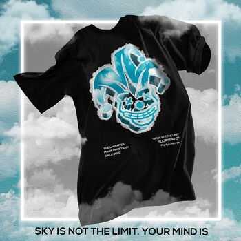 The Laughter - CLOUD Tee Black
