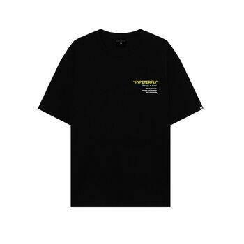 Black HYPETERFLY T-Shirt
