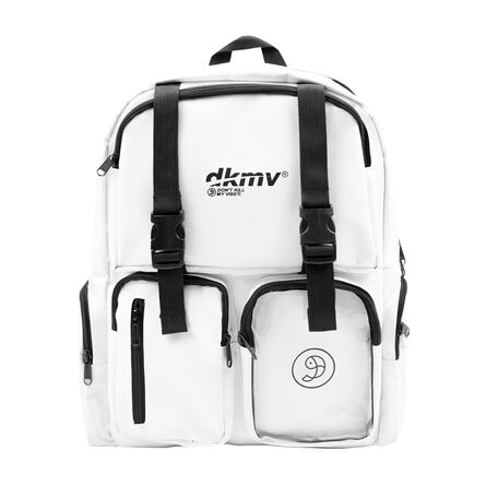 DKMV Logo Backpack - WHITE